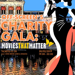 Off-Screen's Charity Gala: Movies that Matter
