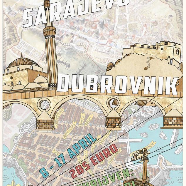 Studiereis: Sarajevo & Dubrovnik