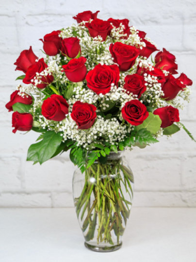 I love you so much 2 dozen Red Roses