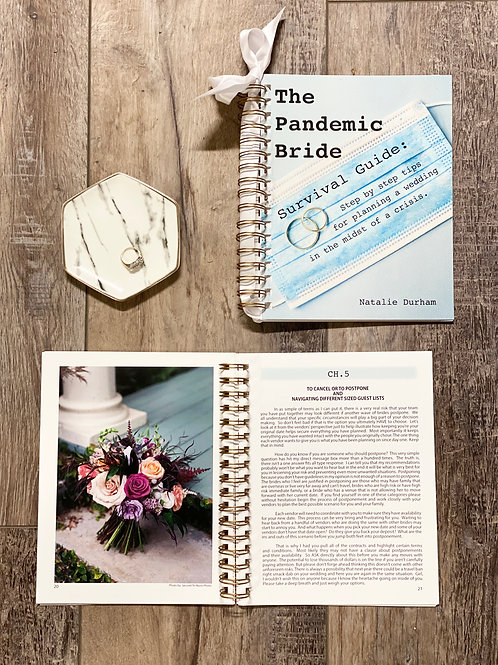 The Pandemic Bride (Includes Wedding planner!  Hard Copy)