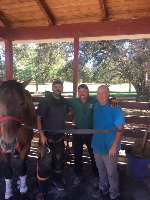 Rob Medearis, Steve Wiberg, Coach(John Kelley)