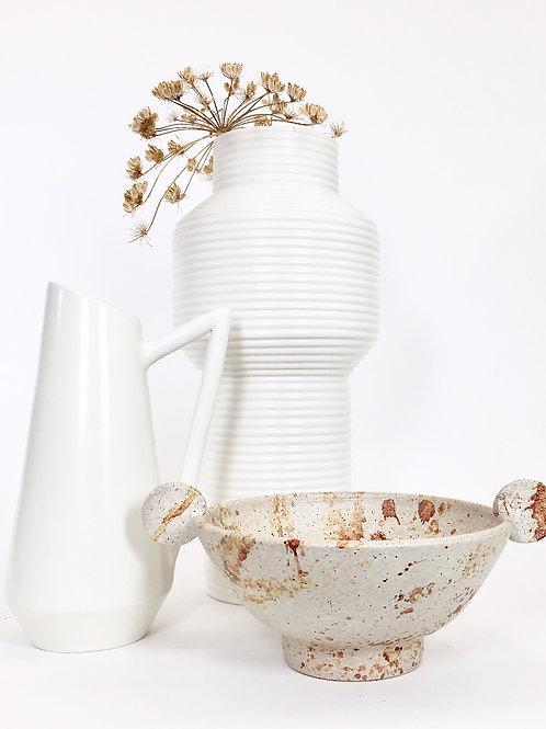 Colonna Texture white matt