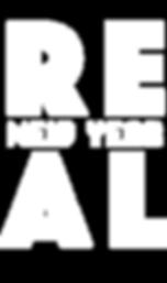 Real New year logo transparent backgroun