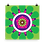 Thumbnail: Tangy Lime everyday square card Citrus Zest Gerbera Daisy - blank inside