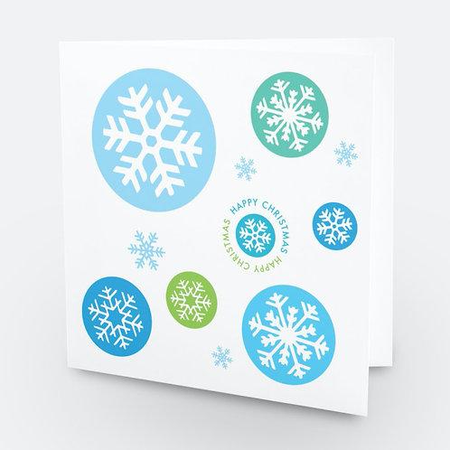 Christmas Snowflake Sparkle 6-pack