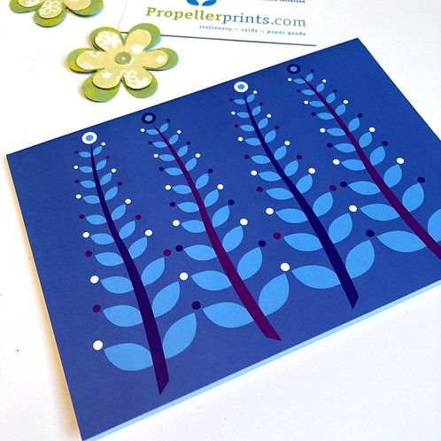 Seaweed Ferns Blue Monday