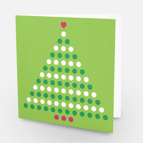 Christmas Tree Lots-a-dots 6-pack