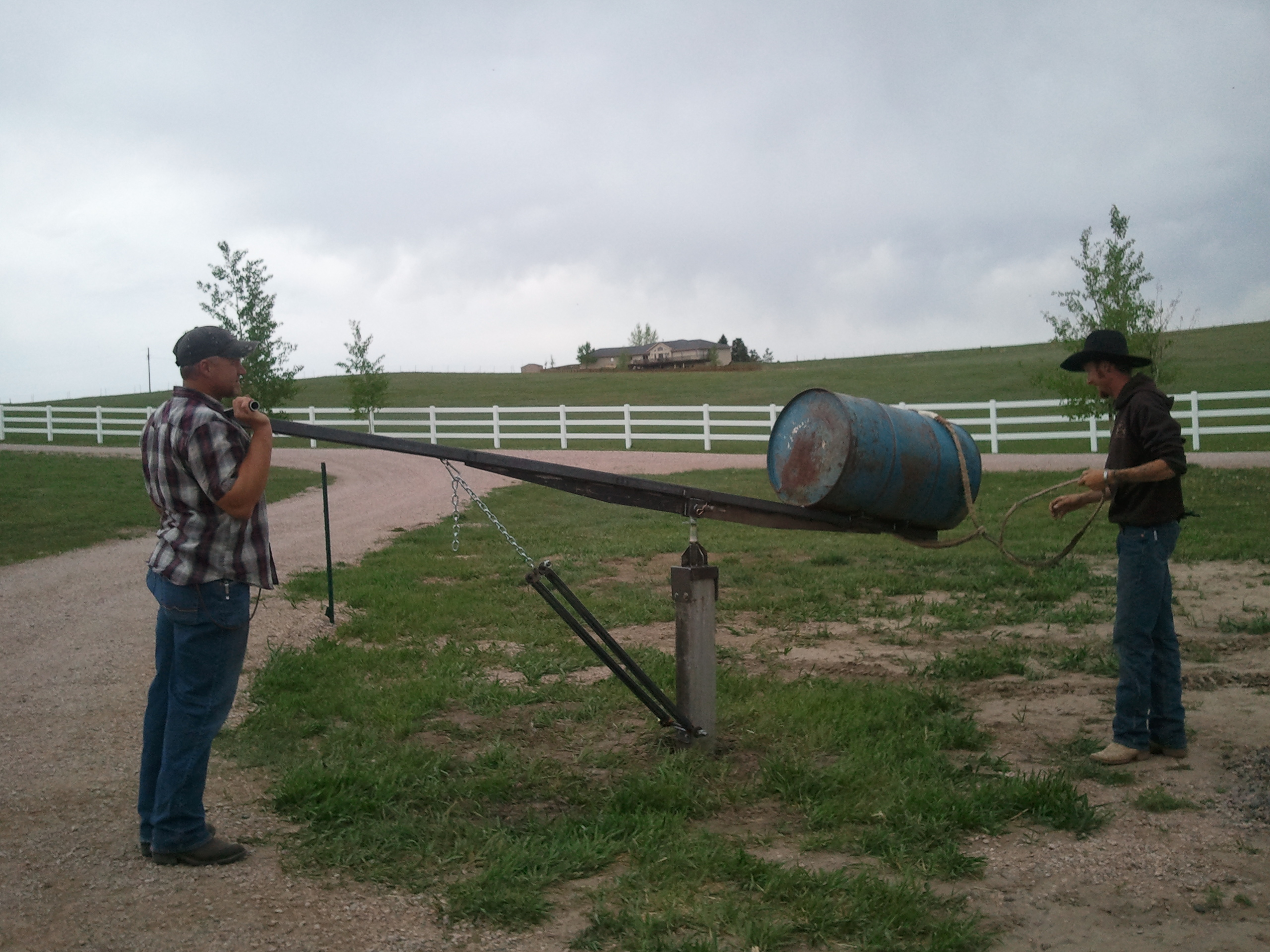 Bucking Barrel