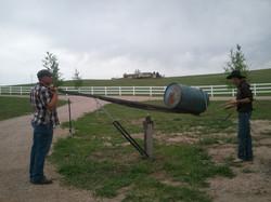 Bucking Barrel