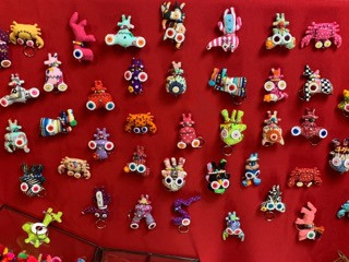 Various Keychains & Magnets