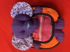 Elephant Backpack - Purple