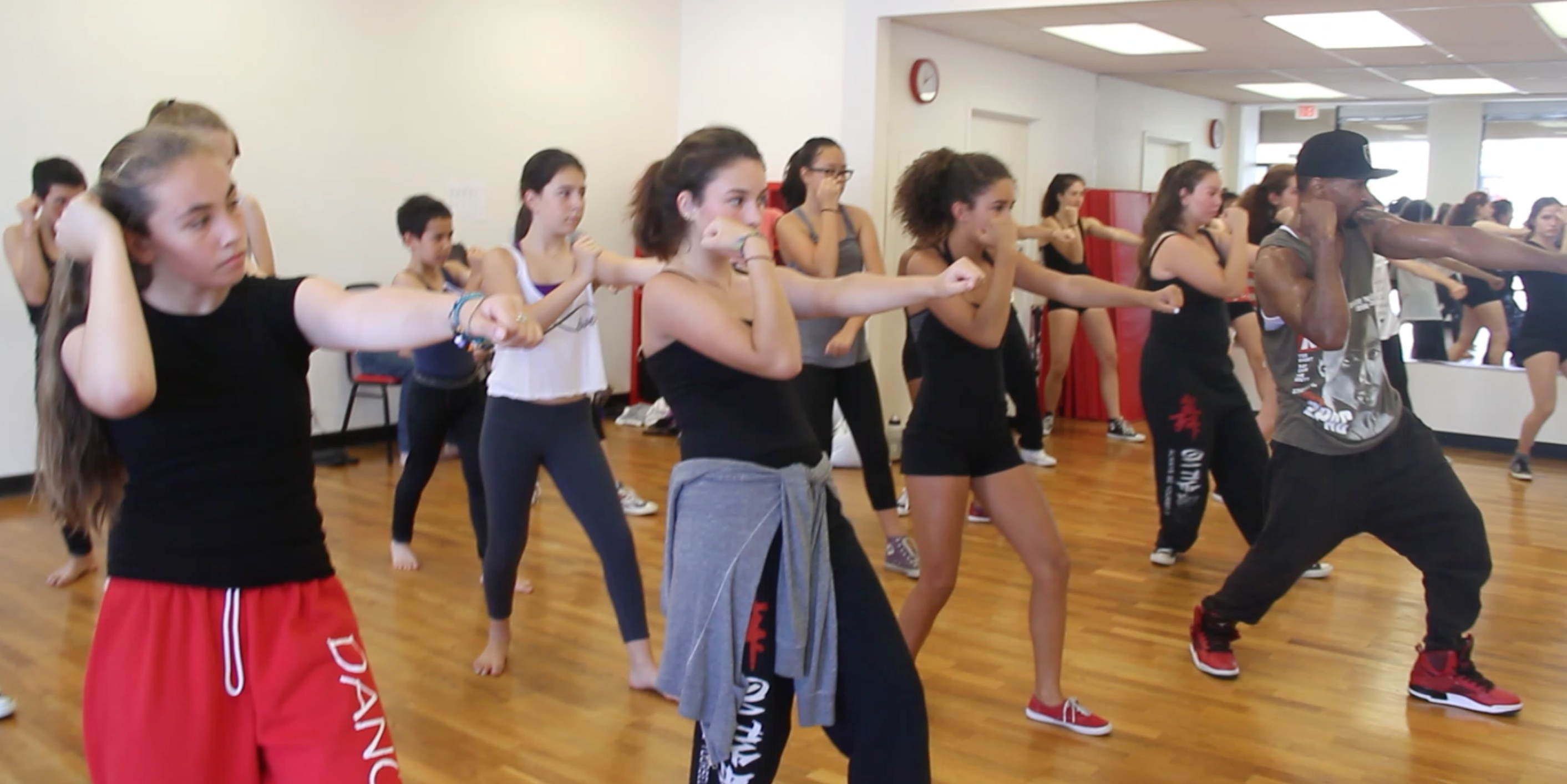 Summer Camp 2014 Hip-Hop Class