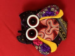 Small Purse - Owl - Front