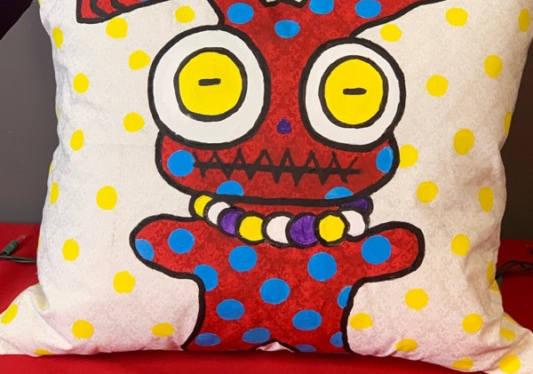 Pillow Red- Front