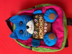 Backpack - Blue Kitty