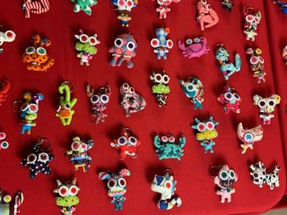Various Magnets & Keychains