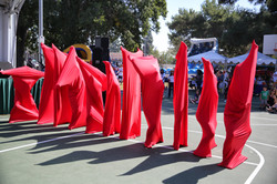 'Red Fabric' Community Performance