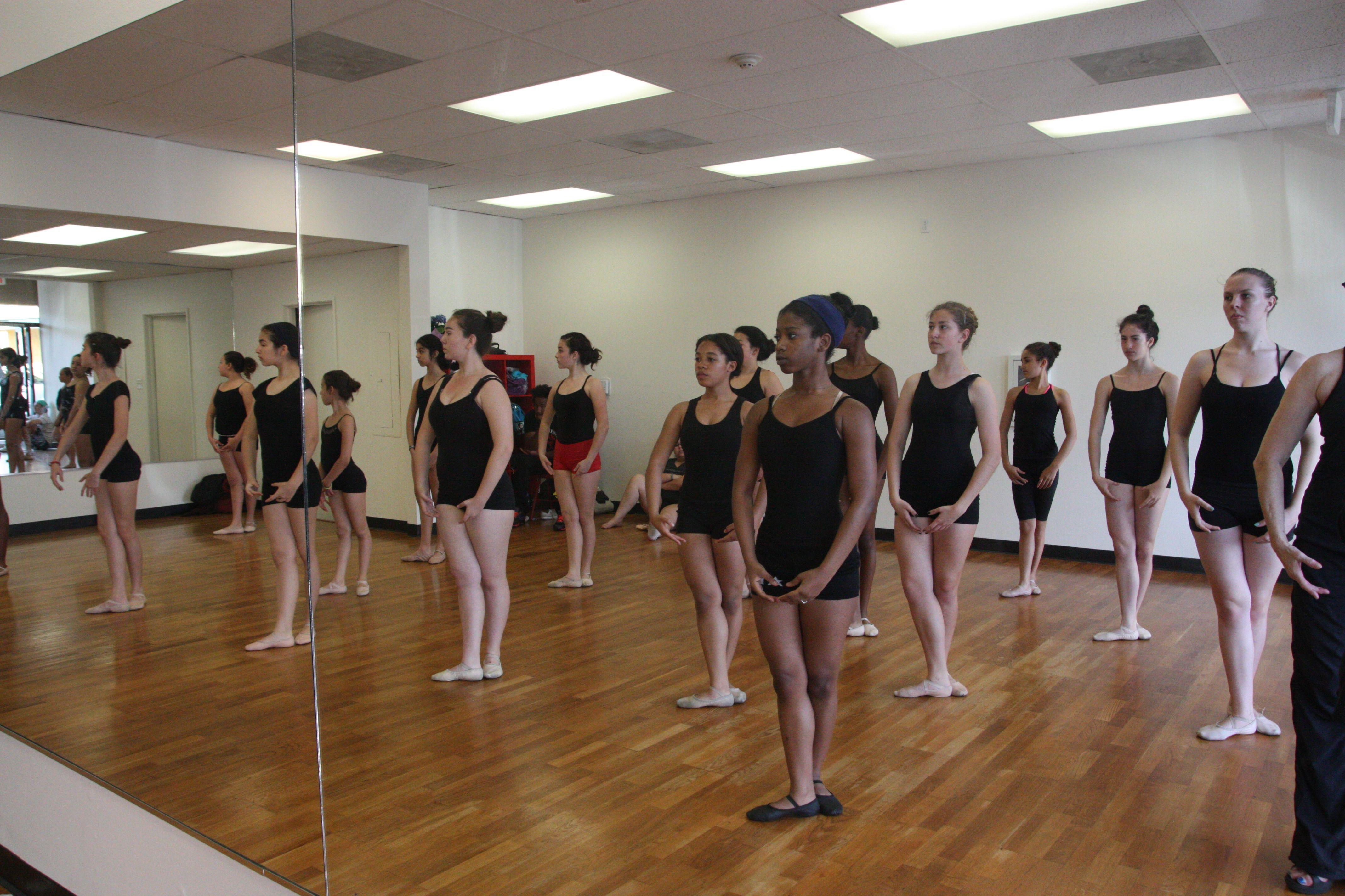 OTE Ballet Class
