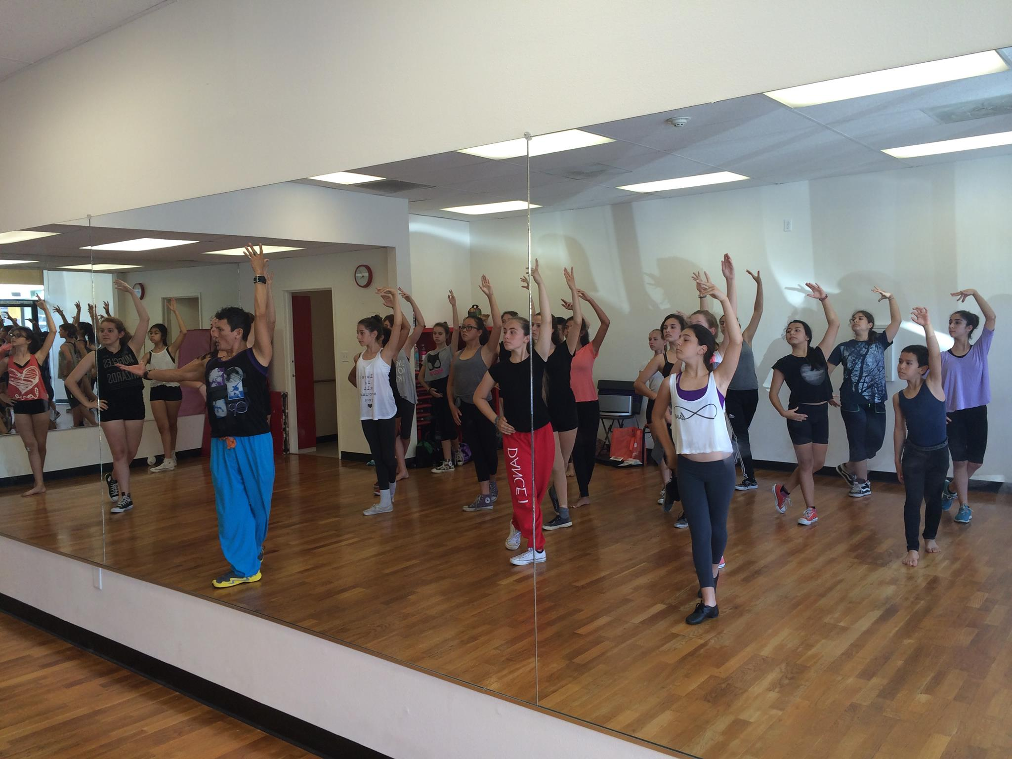 Summer Camp 2014 Flamenco Class