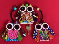 Key Chain - Owls