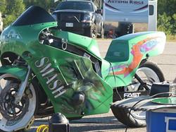 finished hulk Bike