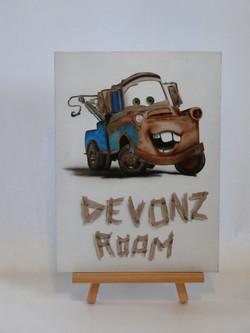 Name sign: Devon
