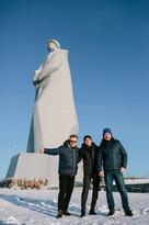 Мурманск Мемориал Защитникам Советского