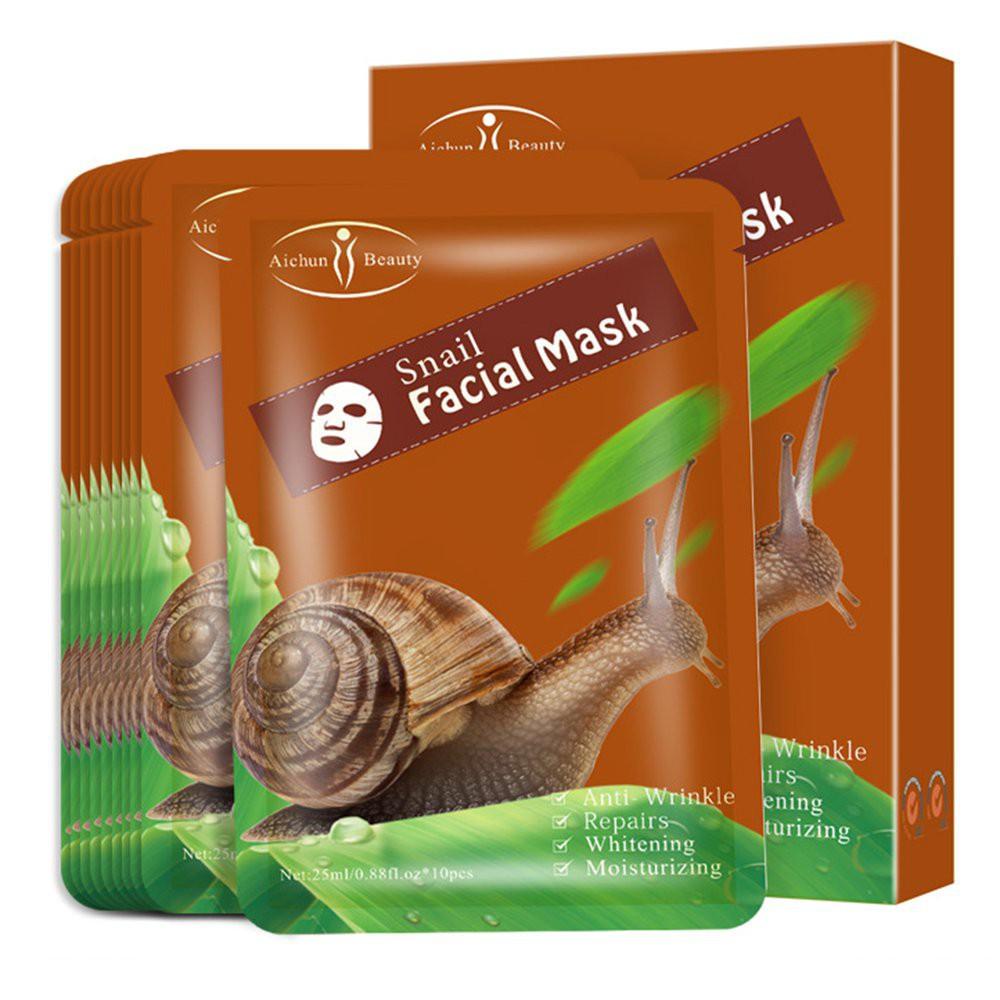 SNAIL FACIAL MASK maska ze śluzem ślimaka
