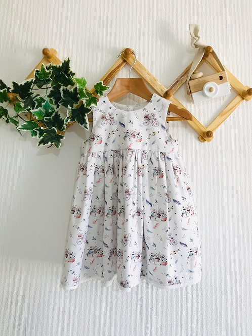 Rose Dress - Cotton Bunny