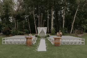 Ceremony at Holland Marsh Wineries