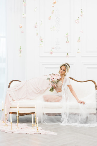 One In A Millan Events - The Blushing Bride - Valentine's Day Inspired Editorial