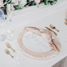 Blush Glam Reception - Table Tales