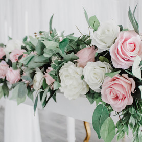 Blush Faux Florals