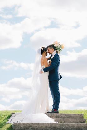 Bride and Groom - The Arlington Estate