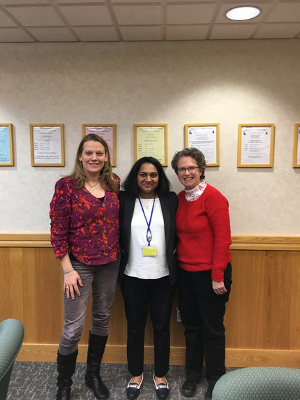 Visit to SUNY Upstate for Swetha Velivela's PhD Defense