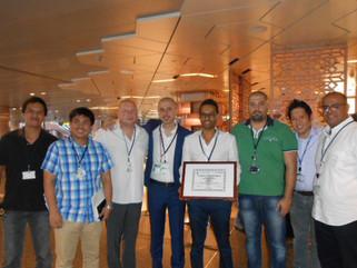 Poltrona Frau Qatar receives Safety Award at the Hamad International Airport