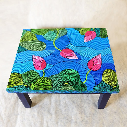 Lotus Low End Table
