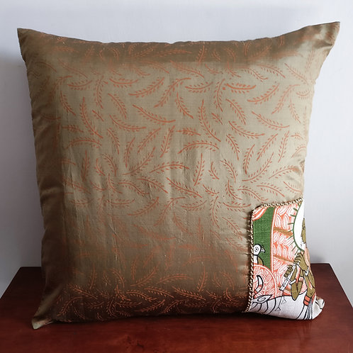 Krishna Silk Cushion Cover - Set of 2