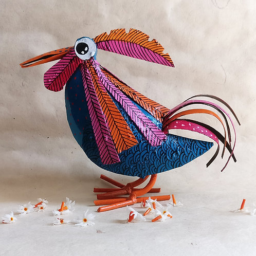 The Original Ruffle-puff Bird