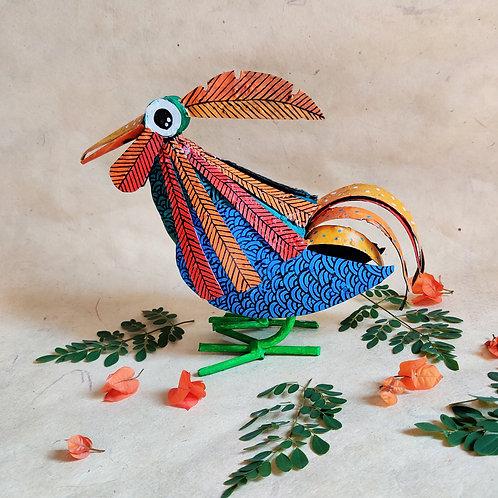 The Third Ruffle-puff Bird