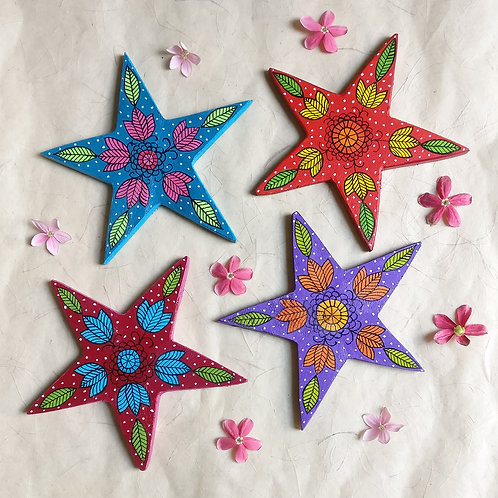 Starry Coasters again - Set of 4