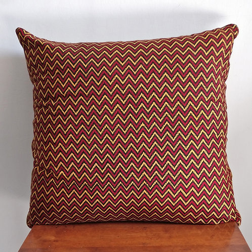 Zig Zag Cotton Cushion Cover - Set of 2
