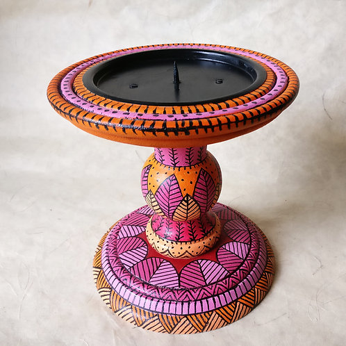 The Blush and Tangerine Candle Stand