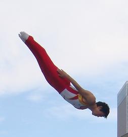 外村哲也, トランポリン, オリンピック選手