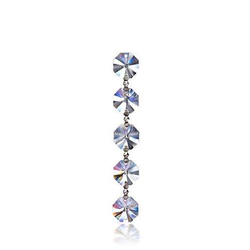 Silver Crystal Meter Garland