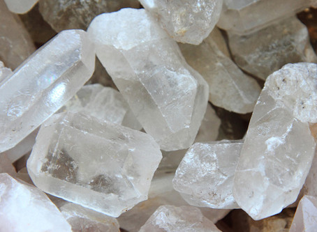 September's Crystal of the Month: Clear Quartz