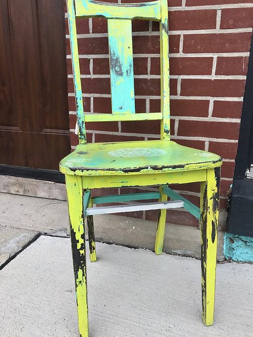 Hand-Painted Chair by Robbie