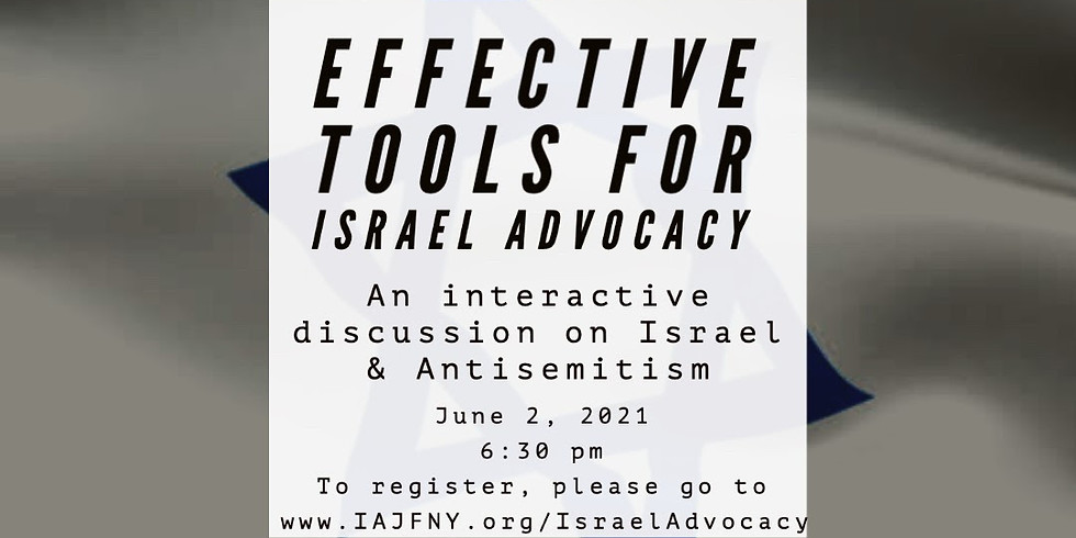 Effective Tools for Israel Advocacy