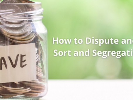 How to Dispute and Avoid Sort and Segregation Fees