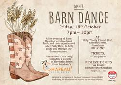 Barn Dance - Landscape Event Poster